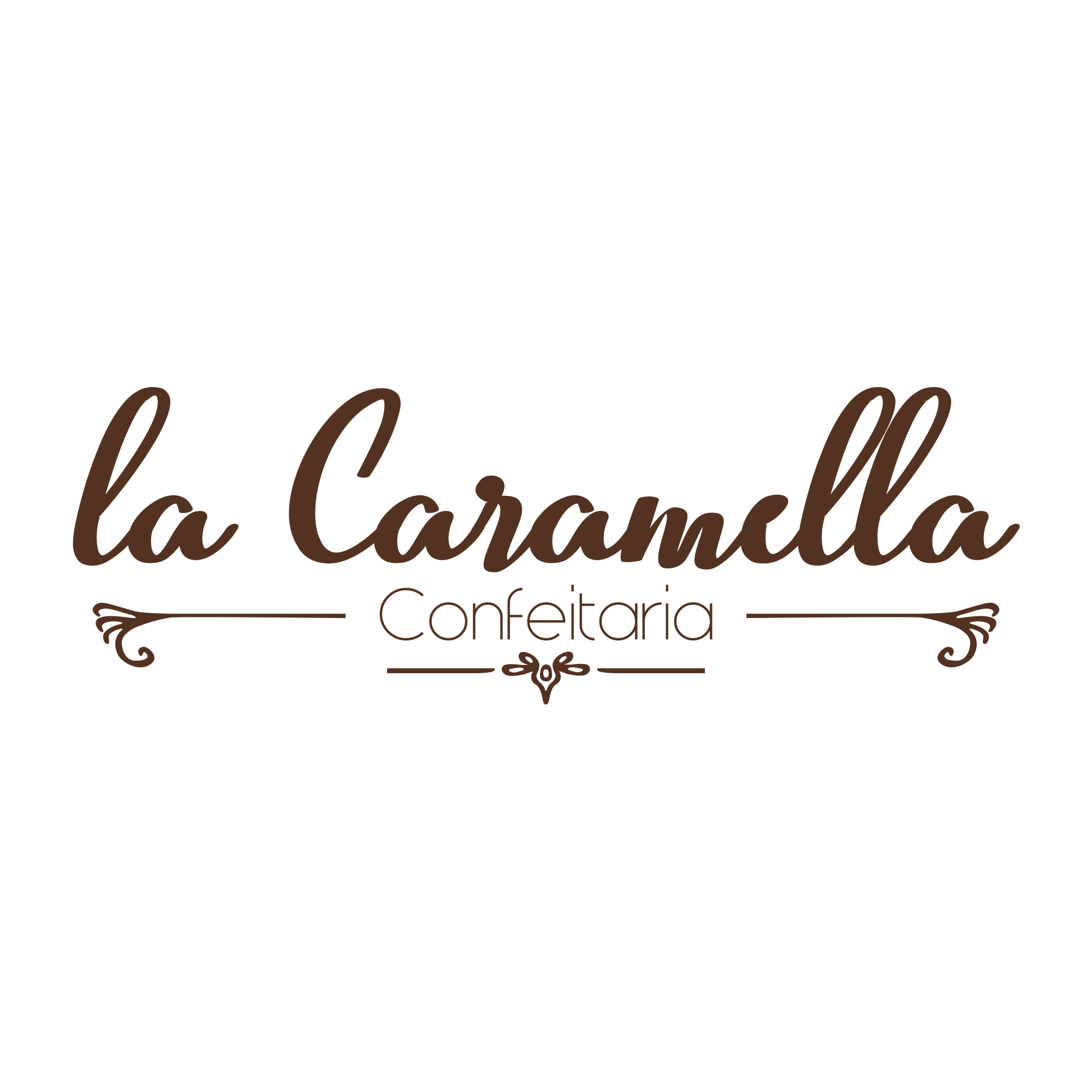 Logo LaCaramella marrom